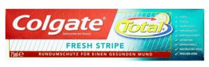 Colgate Total Fresh Stripe Zahnpasta Test