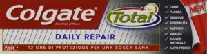 toothpaste total daily repair zanpasta test
